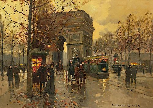 Edouard Cortes 1882 - 1969 SAF | Arc de Triomphe