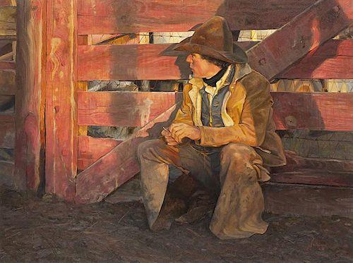 Gordon Snidow b. 1936 CAA | End of Day