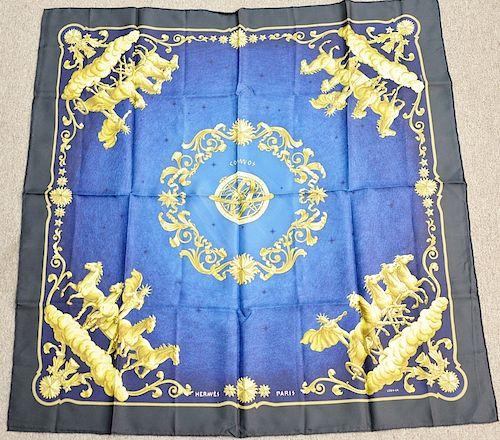 19e55477440f Hermes silk scarf