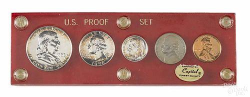 United States proof set, 1958.