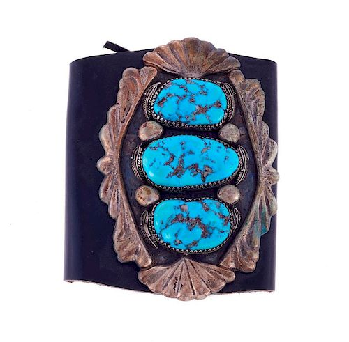 SILVER AND TURQUOISE KETHO