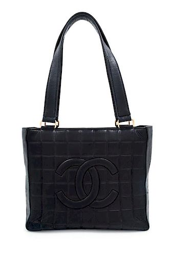 839695599f99f4 A Chanel Black Lambskin