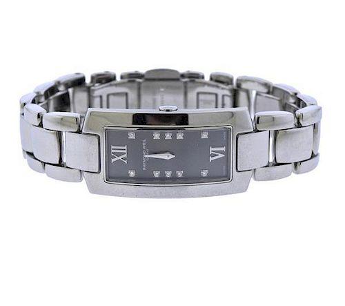 Raymond Weil Stainless Steel Diamond Quartz Watch