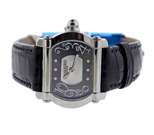 Charriol Actor Tonneau  Stainless Steel Quartz Watch