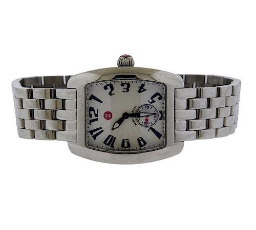Michele Mini Urban Stainless Steel Quartz Watch