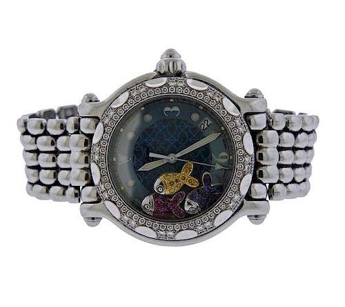 Chopard Happy Sport  Diamond  Watch 28/8927/8