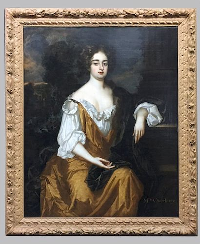 O/C , PORTRAIT, CIRCLE OF SIR GODFREY KNELLER