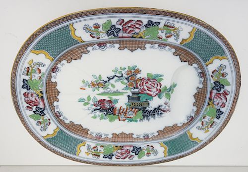 "19"" ENGLISH IRONSTONE  MEAT PLATTER"