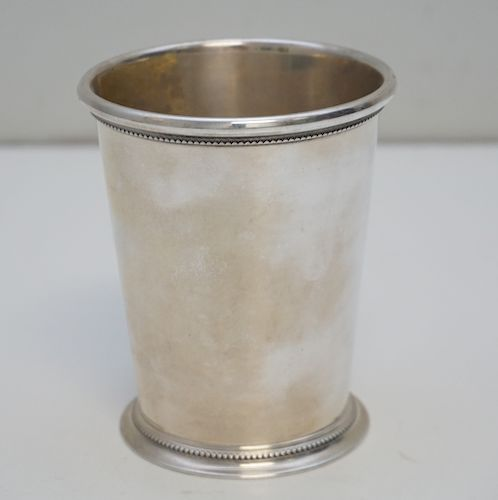 TIFFANY & CO STERLING MINT JULEP CUP