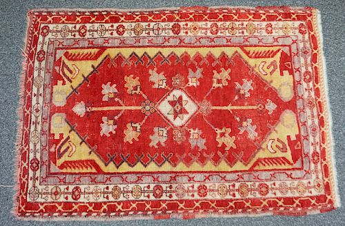 HAND KNOTTED TURKISH KONYA RUG