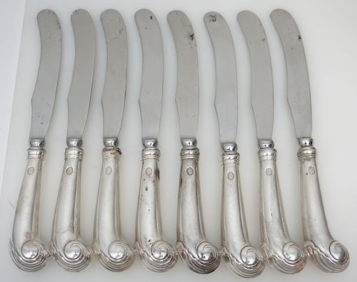 8 STIEFF WILLIAMSBURG SHELL PISTOL KNIVES