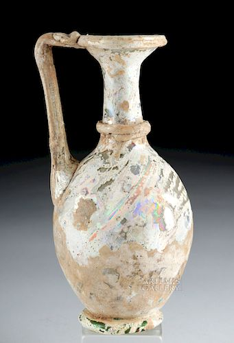Roman Glass Oinochoe w/ Wonderful Iridescence