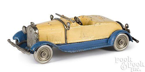 Kilgore cast iron Stutz roadster