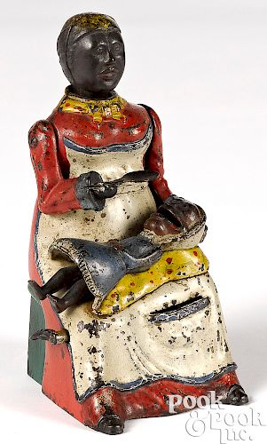 Kyser & Rex mammy and child mechanical bank