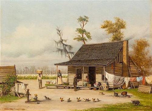 William Aiken Walker, (American, 1838-1921), Southern Homestead