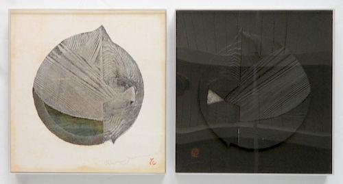 Reiko Iwami woodblock