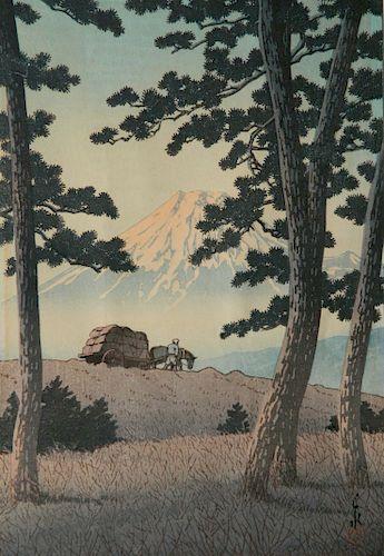 Hasui Kawase woodblock