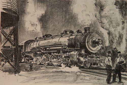Joseph W. Golinken lithograph
