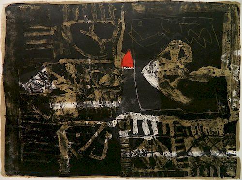 Antoni Clave lithograph