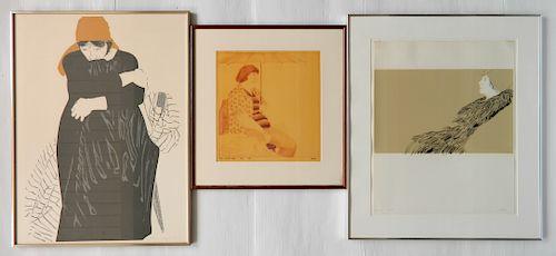 Phyllis Sloane 2 silkscreens