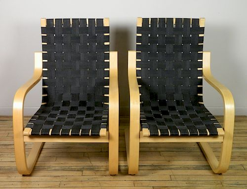 Wondrous Pair Of Alvar Aalto Pension Chairs By Rachel Davis Fine Short Links Chair Design For Home Short Linksinfo
