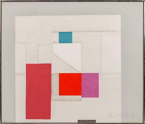 Norio Azuma (Japanese/American, 1928-2004)  On Square