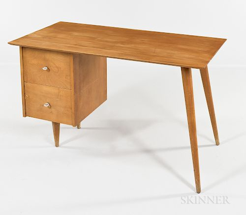 Paul McCobb Planner Group Maple Desk