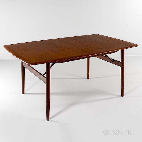 Povl Dinesen Teak Dining Table