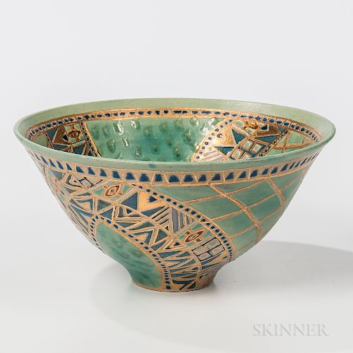 Maureen Shearlaw Pottery Bowl