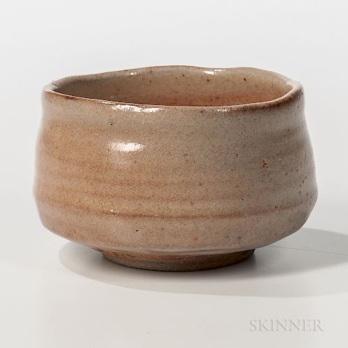 Makoto Yabe (1947-2005) Studio Pottery Tea Bowl