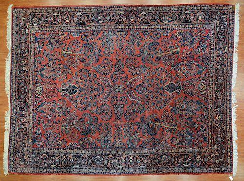 Antique Sarouk carpet, approx. 10.4 x 13.6