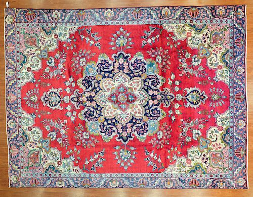Persian Meshed carpet, approx. 9.2 x 12.3