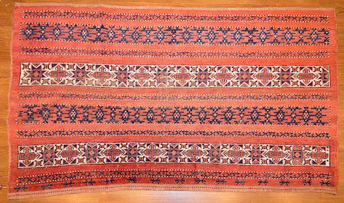 Antique Ersari rug, approx. 4 x 6.5