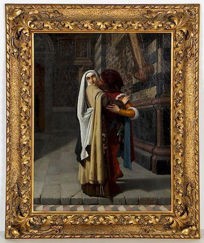 "Gabriele Castagnola (1828-1883) ""Filippino Lippi and His Mistress"", 1871"