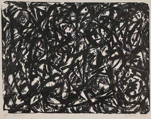 "Lee Krasner (1908-1984) ""Soundings"", 1962, Lithograph"