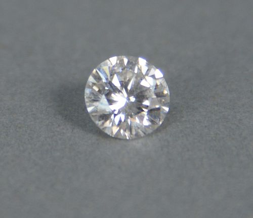Round brilliant cut loose diamond 2.24 cts, no setting, with G.I.A. report, G color, S12.
