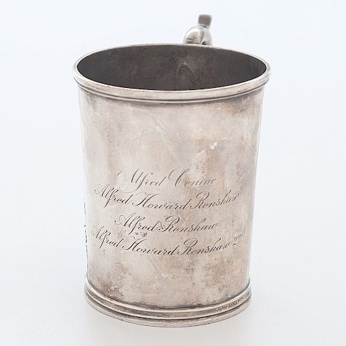 Samuel Kirk Coin Silver Cup