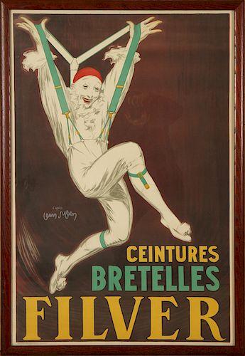 CEINTURES BRETELLES FILVER BY JEAN D'YLEN LITHO