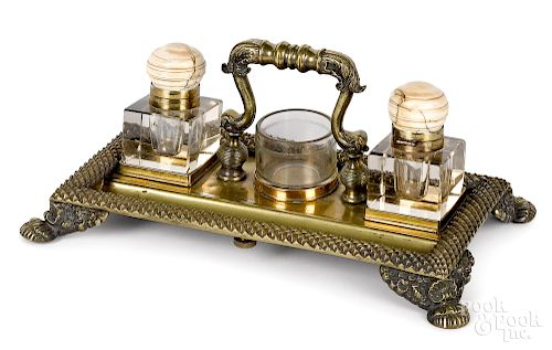 Important Charles Dickens presentation inkwell