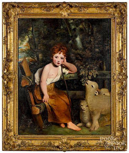 Attributed to Sir Joshua Reynolds