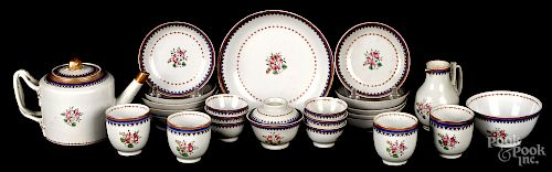 Miniature Chinese export porcelain tea service