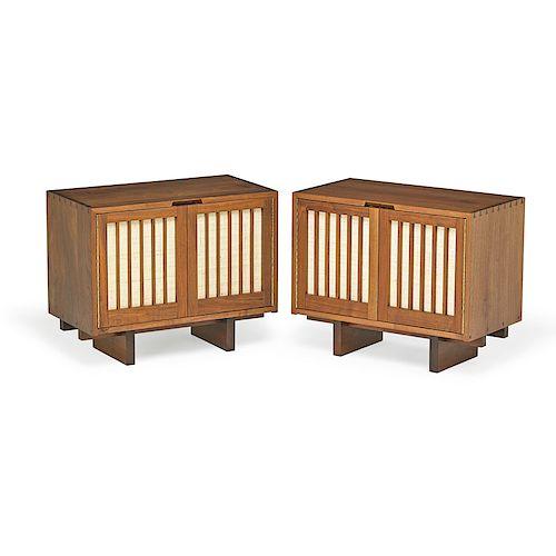GEORGE NAKASHIMA Pair of nightstands