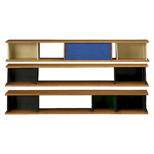 STYLE OF CHARLOTTE PERRIAND Three shelves