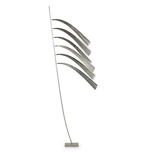 HARRY BERTOIA Tall untitled sculpture