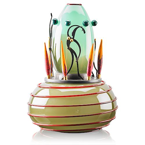 DAN DAILEY Large glass sculpture