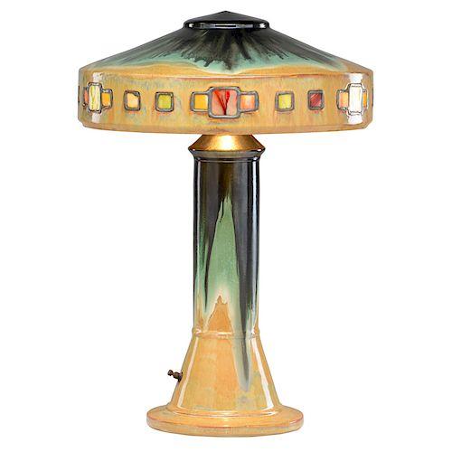FULPER Rare and large Vasekraft lamp