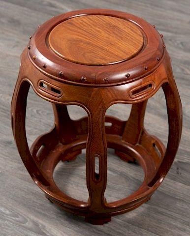 Chinese Drum Form Garden Seat