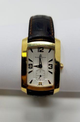 Baume & Mercier Hampton Milleis 18K Men's Watch