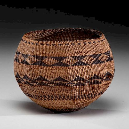 Pomo Basket From the Collection of Mrs. J. W. Howard