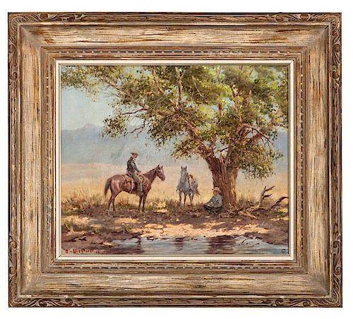 Olaf Wieghorst (American, 1899-1988) Oil on Canvas